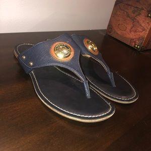 Tommy Hilfiger navy blue sandals